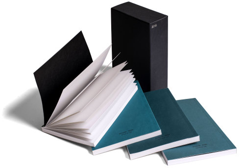 Divisare blue notebook